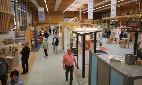 Zentrum HOLZ - Showroom Holzbau